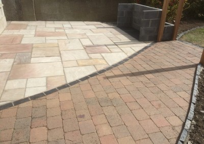 revina sandstone patio