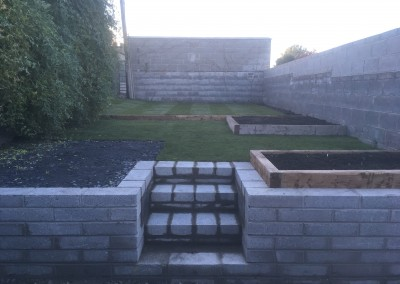 blockwork and steps