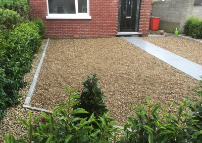 silver granite and pebble driveways2