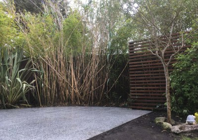 silver granite paving and micro shadeing