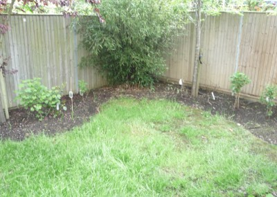 artificial grass before
