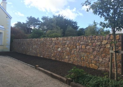 howth stone wall