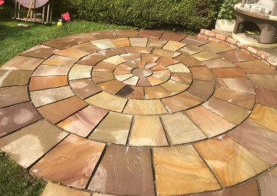indian sandstone after clean