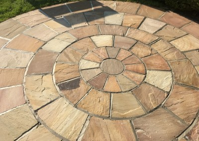 indian sandstone after repointing