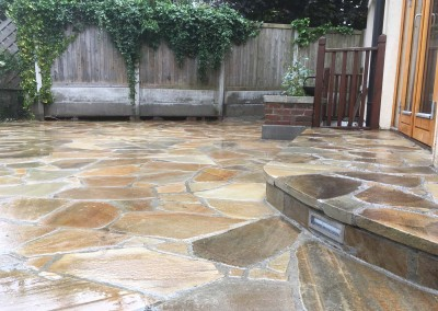 quartz paving and quartz step