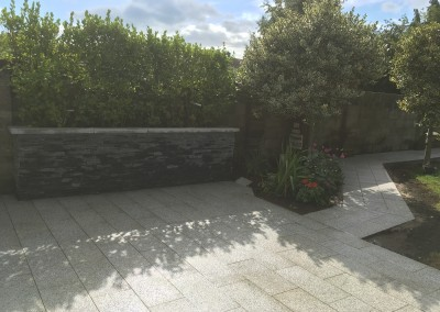 silver granite paving Limestone Walls